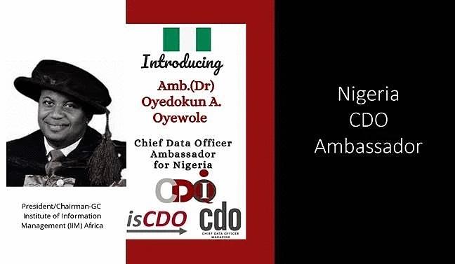 CDO Ambassador, IIM-Africa, Oyedokun,